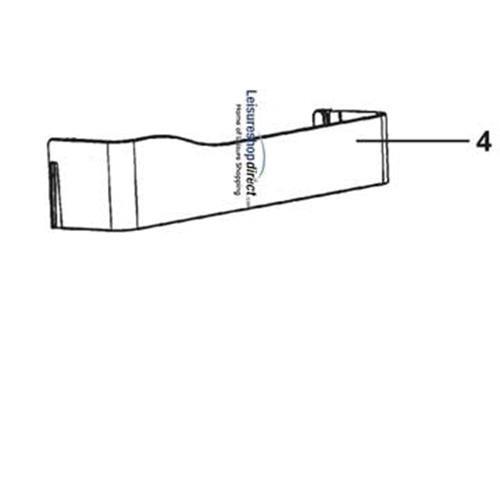 Dometic Middle/ Bottom Doorbin image 1