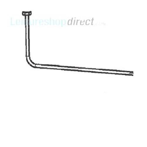 Dometic Gas Inlet Pipe Complete image 1