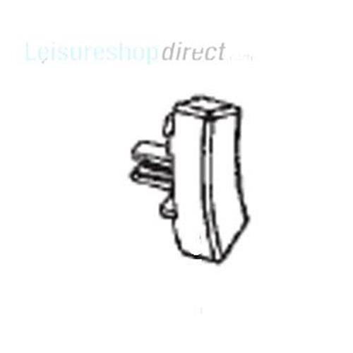 Dometic Switch Cover, White image 1