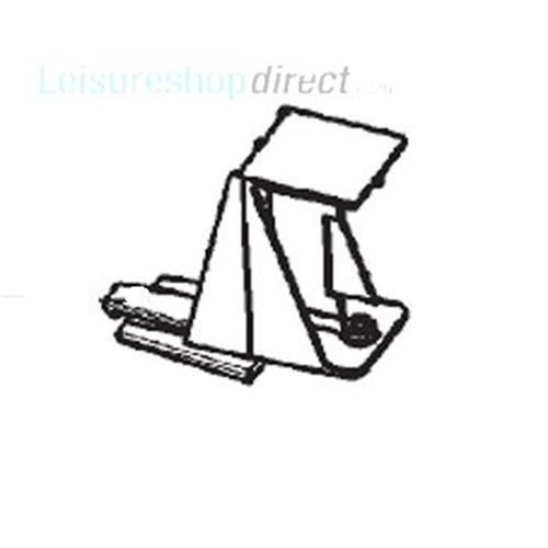 Dometic Control Panel Retainer Black/grey image 1