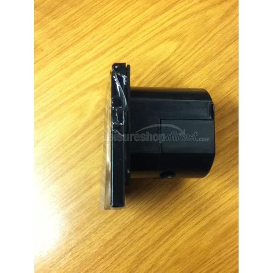 230 volt inlet - black (new design) image 2