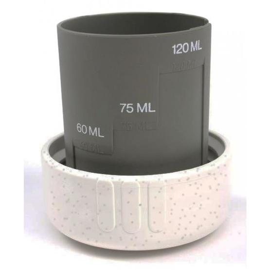 Thetford Cassette Dump cap with measuring cup image 1