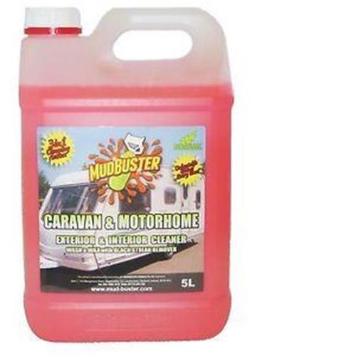 Mud buster Caravan and Motorhome Cleaner - 5ltr image 1