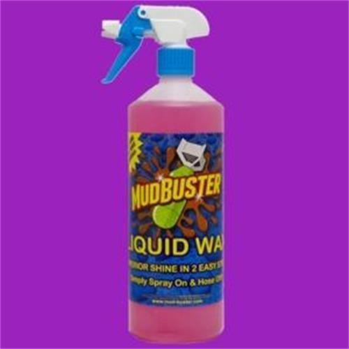 Mud buster Liquid Wax 1ltr image 1