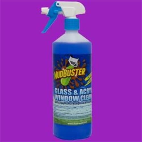 Mud buster Glass and acrylic cleaner - 1ltr image 1