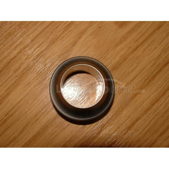 Rossette for push button 13mm door thickness,plastic image 1
