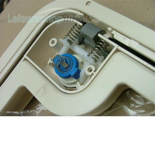 Lock Mechanism kit for Thetford Service Door - white image 2