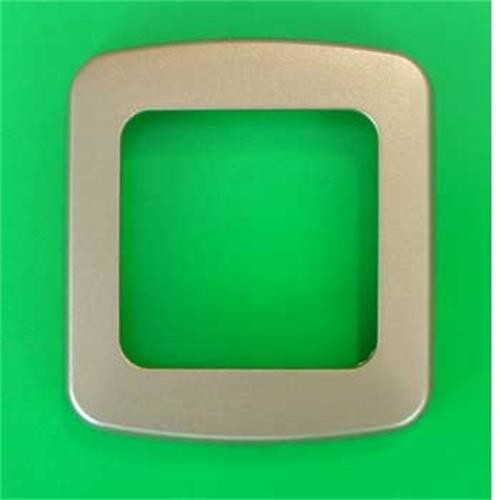 CBE 1 Way Nickel Flatline Decorative Frame image 1