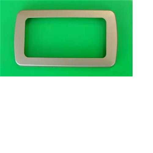 CBE 2 Way Nickel Flatline Decorative Frame image 1