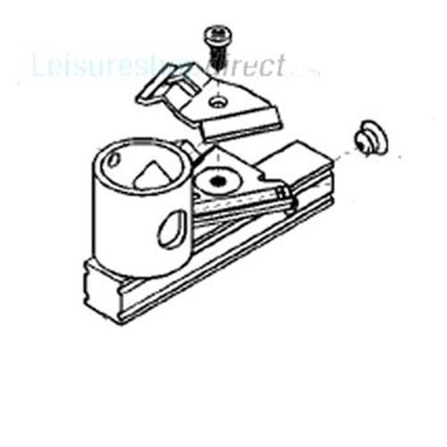 Jet KZ12 & Gas Burner Assembly for Dometic Fridges image 1