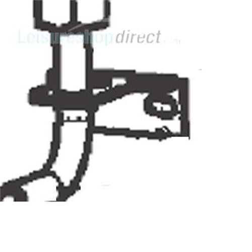 Dometic Bracket for Pipe image 1