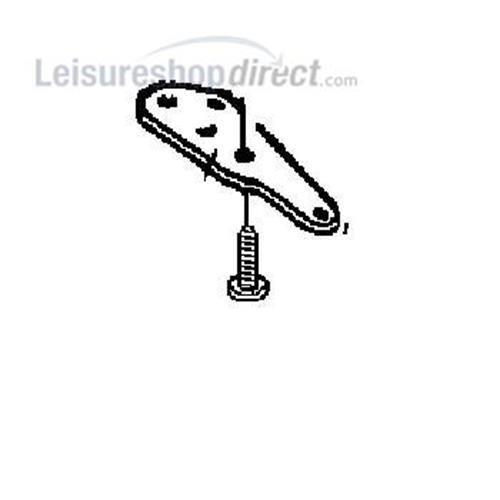 Dometic Hinge Lower Left image 1