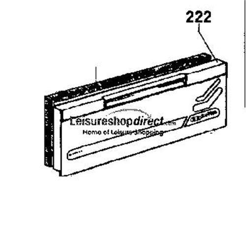 Dometic Freezer Flap Assembly image 1