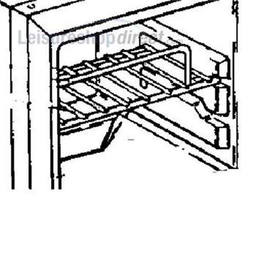 Upper Shelf Zinc Plated Dometic Fridge image 1