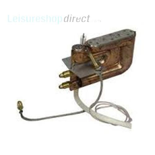 Burner Complete 30 mbar for Trumatic S3002 Automatic Ignition image 1