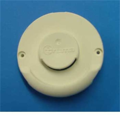 Cowl outer plate - white to Fit Trumatic Boilers image 1