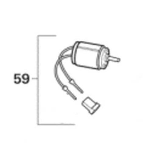 Air Circulating Motor Trumatic C3204 + C6002 image 1