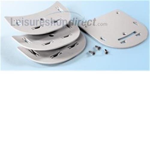 Spacer Kit for Safe Door Security Locks - Grey image 1