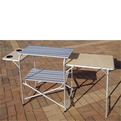 Royal aluminium kitchen stand camp kitchens for Kitchen set aluminium royal