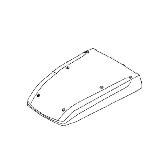 Cover Hood for Dometic Blizzard B1500 White