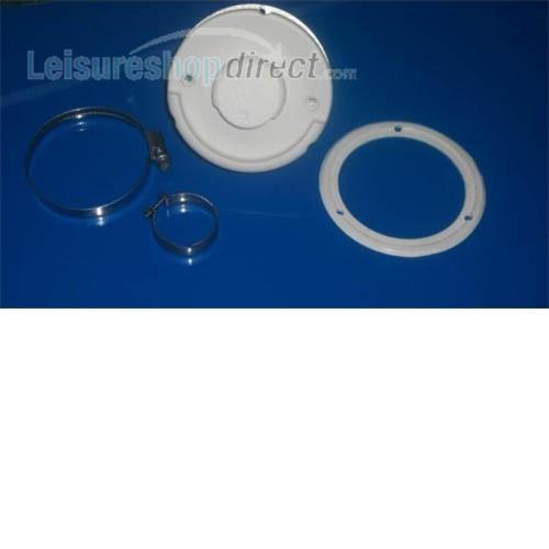 Truma E2400 flue cowl complete (white) image 1