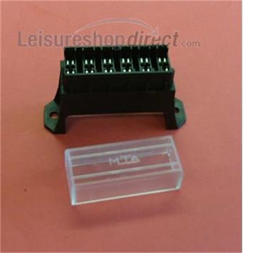 Fuse box 6 way for blade fuses image 1