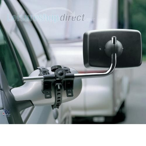 Reich Mirror Control Caravan Towing Mirrors Set with 2 Mirrors image 2