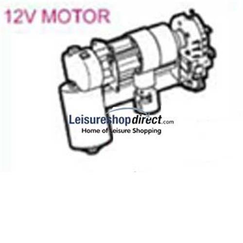 Omnistor 5002 Awning 12V Motor Assembly image 1