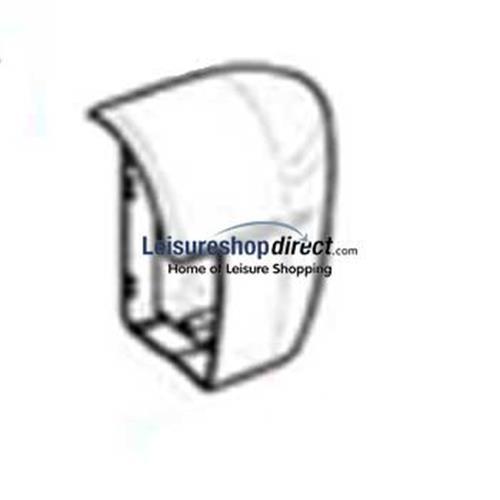 Omnistor 5002 Awning LH & RH Sidecap Assembly Aluminium image 1