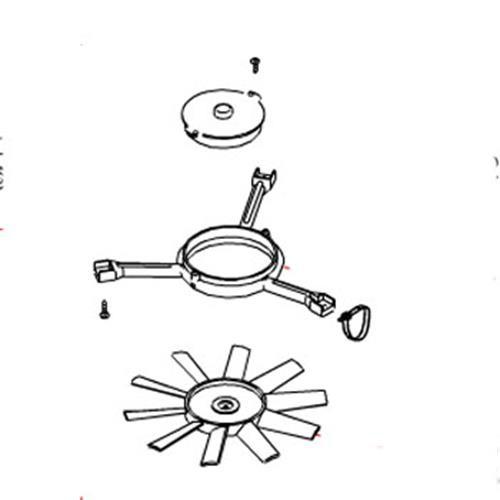 Fan Motor Cradle Kit Famma Turbo Vent
