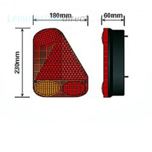 Rear LH 5 Function Trailer Light image 2