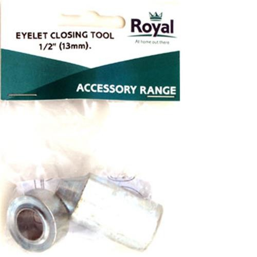 "Royal Accessory Eyelet Closing tool 1/2"" (13mm)"