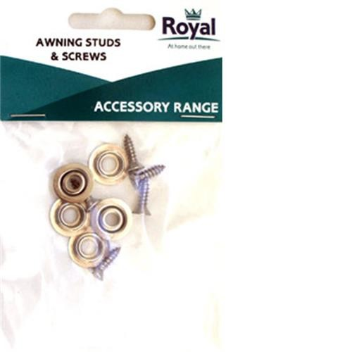 Royal Accessories Awning studs & Screws