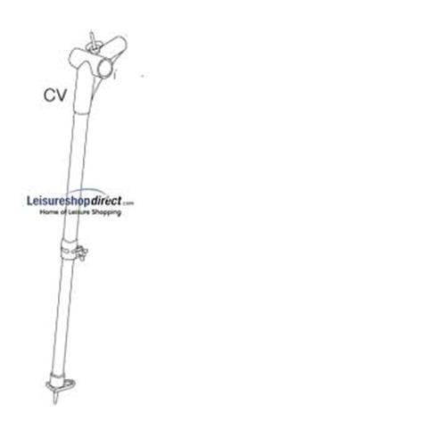 Ixl Cv Corner Left With B Pole For Ventura Standard