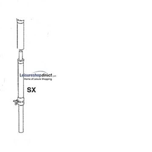 IXL - SX-pole for Ventura Standard Awnings image 1