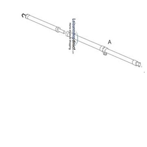 IXL- A-rafter pole for Ventura Standard Awnings image 1