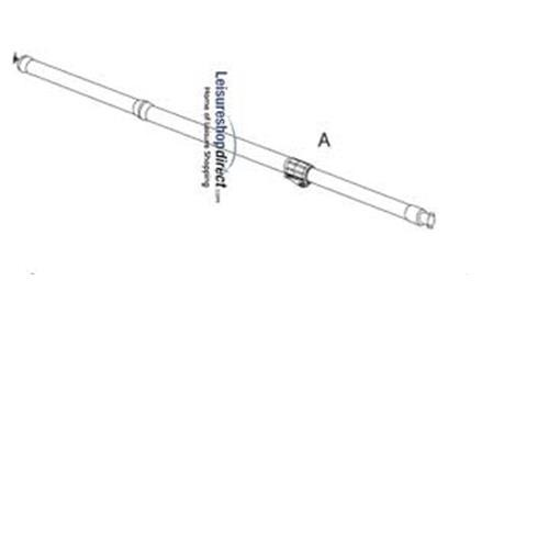 CarbonX MAX-pole 250 cm A Pole for Isabella Awnings (clamp end) image 1