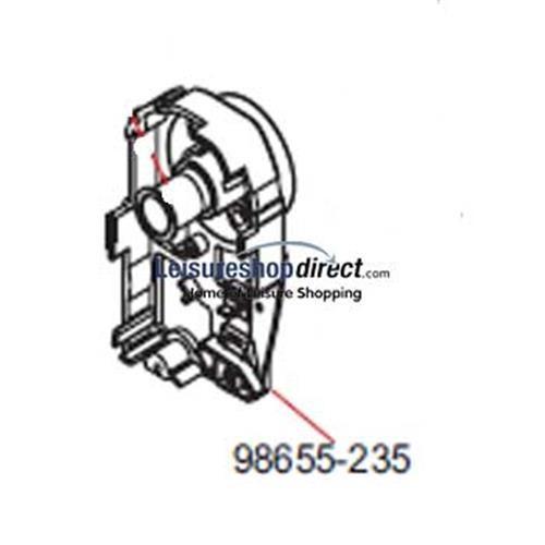 Fiamma RH Inner Cap F45Ti Titanium 250-450 image 1