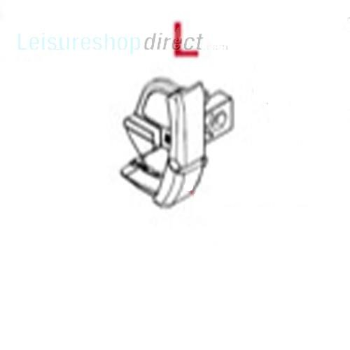 Fiamma Pelmet LH End CapTtitanium for F45 S | Fiamma Code