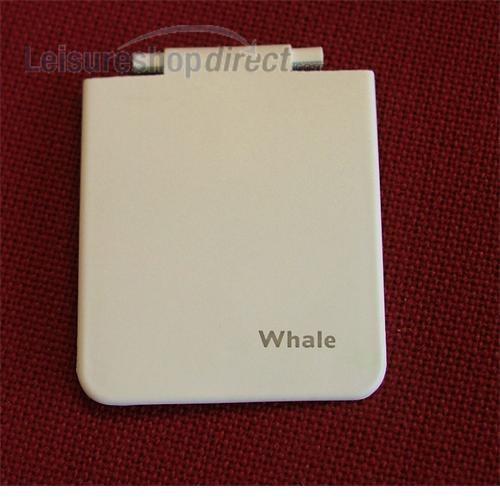 White AK1401 Whale Watermaster Inlet Socket Flap Caravan // Motorhome