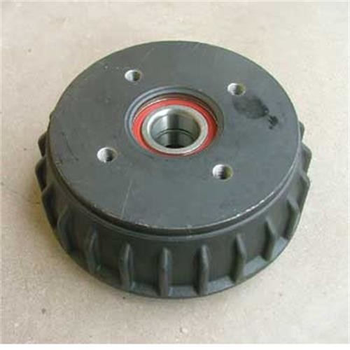 Alko Brake drum 1637 Euro with bearings image 1