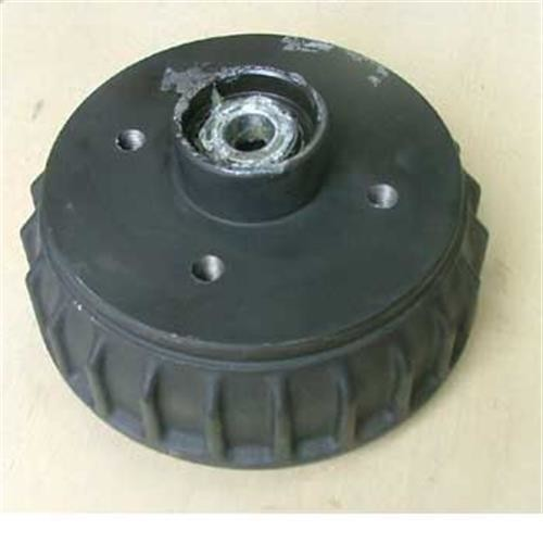 Brake Drum 1637 100*4/M12T Non Euro image 1