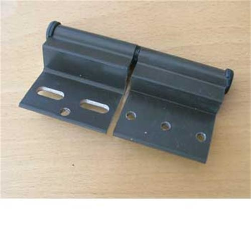 Ellbee door hinge brown LH - for static caravan image 1