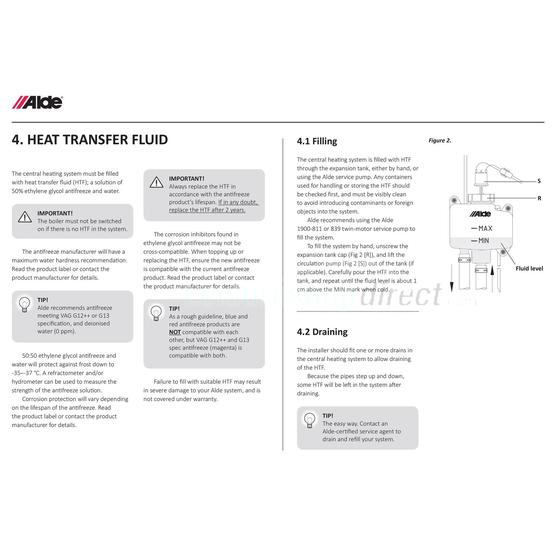 Alde G13 premium antifreeze, 1 litre image 2