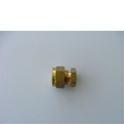 Stop ends compression,  Gas Compression fittings