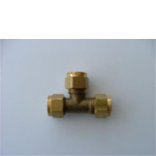 Equal tee 8mm compression, Gas compression fittings, accessories