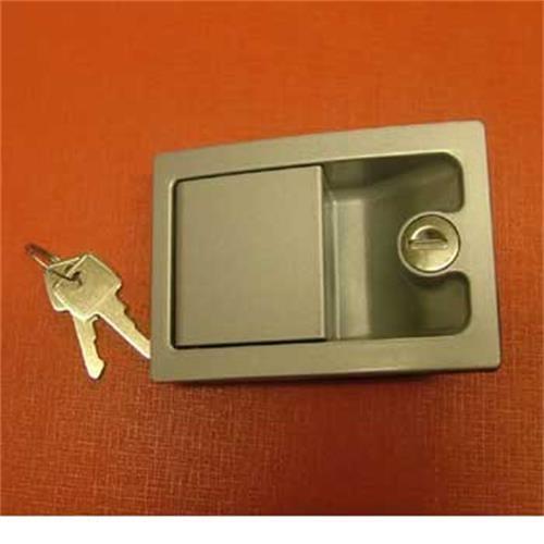 Caraloc 700 Door Lock silver - exterior only image 1