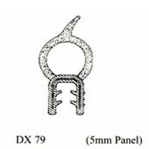 Locker seal, self gripping - 79, Door & locker rubber, accessories