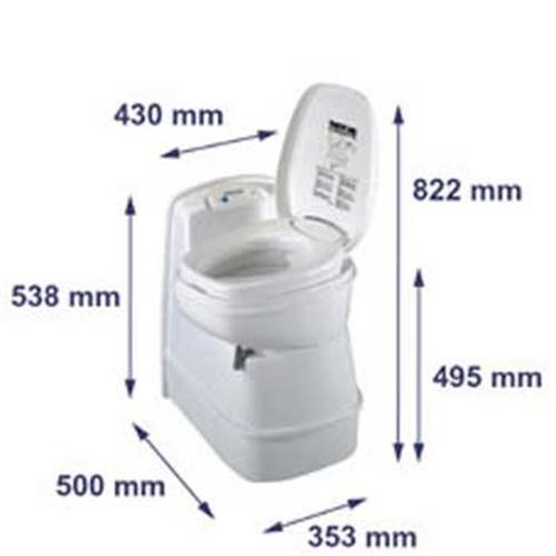 thetford c 200cs cassette toilet thetford toilet c 200s. Black Bedroom Furniture Sets. Home Design Ideas