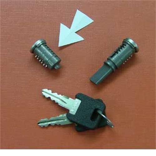 WD barrel lock - short image 1